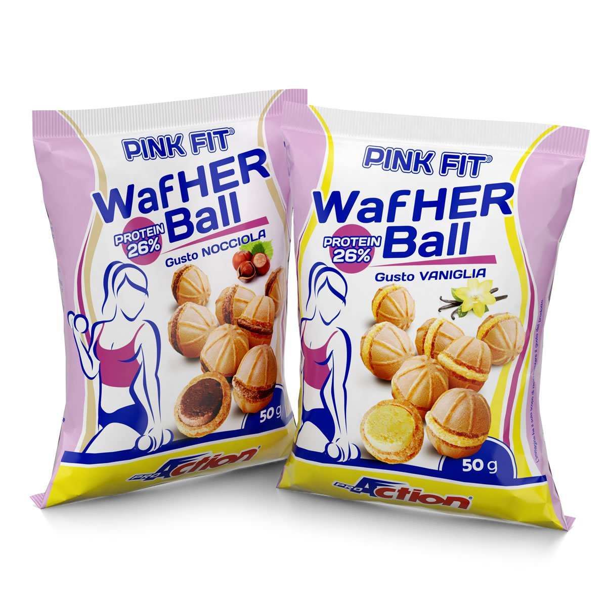 Pink Fit Wafher Ball